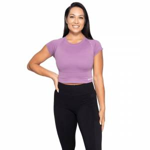 Better Bodies Astoria Seamless Tee, Strong Purple, M