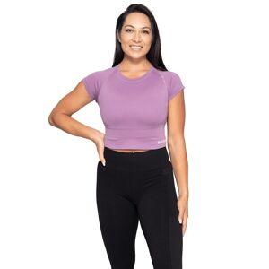 Better Bodies Astoria Seamless Tee, Strong Purple, S