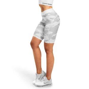 Better Bodies Chelsea Shorts, White Camo, M