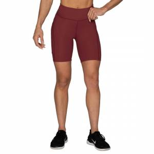 Better Bodies Chrystie Shorts V2, Sangria Red, M