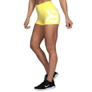 Better Bodies Gracie Hotpants, Lemon Yellow