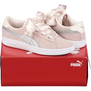 Puma So Smash V2 Rb Jr Tennarit PINK  - PINK - Size: 3.5