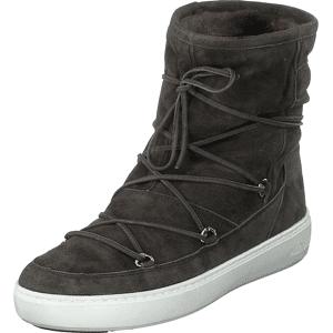 Moon Boot Pulse Mid Grey, Sko, Sneakers & Sportsko, Høye Sneakers, Brun, Dame, 39
