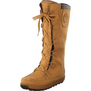 Timberland Mukluk Pull On Wheat, Sko, Støvler & Støvletter, Varmforet høye støvler, Rød, Orange, Dame, 37