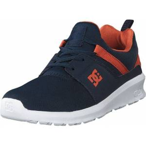 DC Shoes Heathrow Indigo, Sko, Sneakers og Treningssko, Sneakers, Blå, Barn, 37