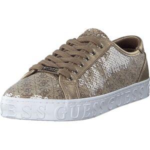 Guess Graser Beige/brown, Sko, Sneakers og Treningssko, Lave Sneakers, Blå, Brun, Dame, 36