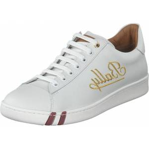 Bally Wiera Bally White / Bally Red, Sko, Sneakers & Sportsko, Lave Sneakers, Hvit, Dame, 36