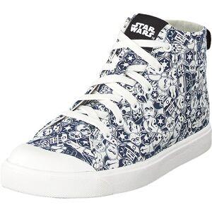 Clarks City Orbite K Blue/white, Sko, Sneakers & Sportsko, Høye Sneakers, Blå, Barn, 30
