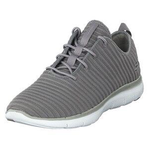 Skechers Flex Appeal 2.0 Gry, Dame, Shoes, grå, EU 36