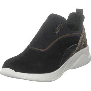 Novita Noemi Black, Sko, Sneakers og Treningssko, Sneakers, Svart, Dame, 40