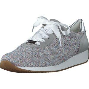 Ara Lissabon Candy/white, Sko, Sneakers og Treningssko, Sneakers, Grå, Dame, 36