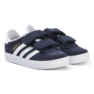 adidas Originals Navy Velcro Infants Gazelle Trainers 27 (UK 9.5)