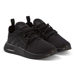 adidas Originals Black X PLR Kids Sneakers 25 (UK 7.5)