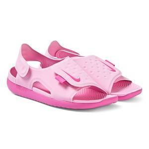 NIKE Sunray Adjust 5 Sandals Psychic Pink 35 (UK 2.5)