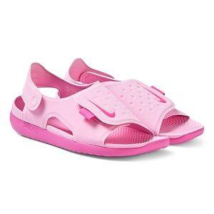 NIKE Sunray Adjust 5 Sandals Psychic Pink 29.5 (UK 11.5)