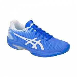 Asics Solution Speed FF Clay/Padel Women Blue Coast/White 37.5