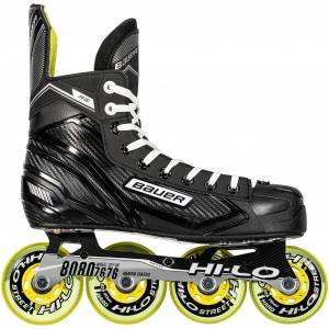 bauer RH RS Skate -20, inlineskøyte senior R 7 / 42 BLACK