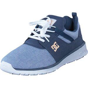 DC Shoes Heathrow SE Navy/White, Skor, Sneakers & Sportskor, Sneakers, Blå, Dam, 36
