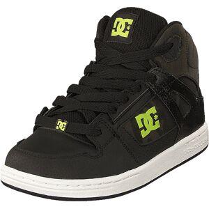 DC Shoes Pure High-top Se Black/camo, Skor, Sneakers och Träningsskor, Höga sneakers, Svart, Barn, 34