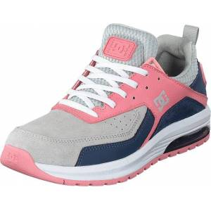 DC Shoes Vandium Se Grey/pink, Skor, Sneakers & Sportskor, Walkingskor, Blå, Dam, 39