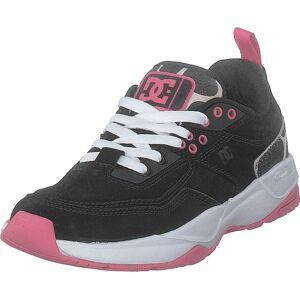 DC Shoes E.tribeka Se Black/pink, Skor, Sneakers och Träningsskor, Sneakers, Svart, Dam, 39