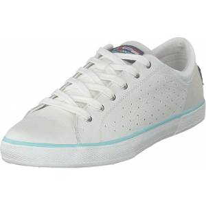 Helly Hansen W Copenhagen Leather Shoe Off White/blue Tint, Skor, Sneakers & Sportskor, Låga sneakers, Vit, Dam, 38