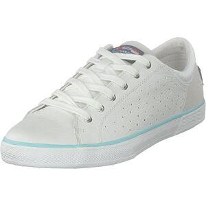 Helly Hansen W Copenhagen Leather Shoe Off White/blue Tint, Skor, Sneakers & Sportskor, Låga sneakers, Vit, Dam, 41