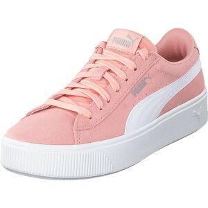 Puma Puma Vikky Stacked Sd Peach Bud-puma White, Skor, Sneakers & Sportskor, Låga sneakers, Vit, Dam, 40