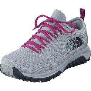 The North Face Women's Truxel High Rise Grey/ebony Grey, Skor, Sneakers & Sportskor, Löparskor, Blå, Grå, Dam, 39