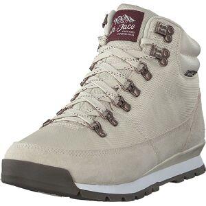 The North Face W Back-to-berkeley Redux Vintage White/deep Garnet Red, Skor, Sneakers & Sportskor, Höga sneakers, Grå, Vit, Dam, 38