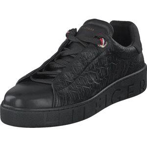 Tommy Hilfiger Tommy Monogram Dressy Sneaker Black, Skor, Sneakers & Sportskor, Sneakers, Svart, Dam, 41