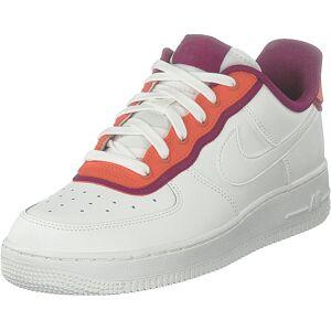 Nike Wmns Air Force 1 '07 Se Sail/team Orange/true Berry, Skor, Sneakers & Sportskor, Sneakers, Vit, Dam, 39