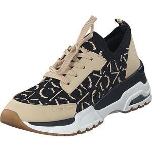 Calvin Klein Jeans Hensley Deep Navy, Skor, Sneakers & Sportskor, Sneakers, Beige, Blå, Dam, 36