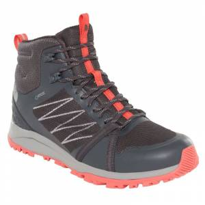 The North Face Women's Litewave Fastpack II Mid Gore-Tex Grå
