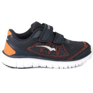 Bagheera Player Sneaker, Navy/Orange 21