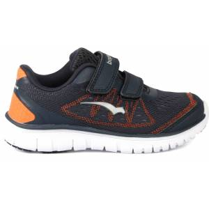 Bagheera Player Sneaker, Navy/Orange 23
