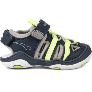 Bagheera Flurry Sandal, Navy/Lime 22