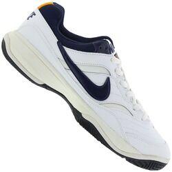 Nike Tênis Nike Court Lite - Masculino - BRANCO/AZUL ESC