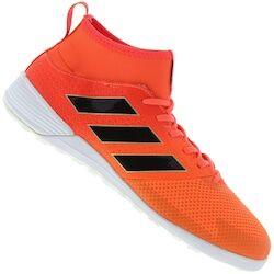 adidas Chuteira Futsal adidas Ace 17.3 Primemesh IN - Adulto - LARANJA ESC/PRETO