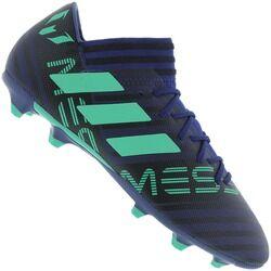 adidas Chuteira de Campo adidas Nemeziz Messi 17.3 FG - Adulto - AZUL ESC/VERDE
