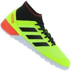 adidas Chuteira Futsal adidas Predator Tango 18.3 IN - Adulto - VERDE CLARO/PRETO