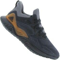 adidas Tênis adidas Alphabounce 2 - Masculino - PRETO/CINZA ESC