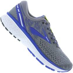 Brooks Tênis Brooks Ghost 11 - Masculino - CINZA/AZUL