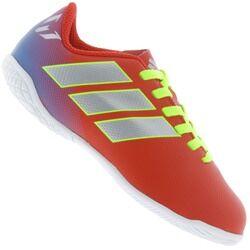 adidas Chuteira Futsal adidas Nemeziz Messi Tango 18.4 IC - Infantil - VERMELHO/AZUL