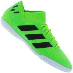 adidas Chuteira Futsal adidas Nemeziz Messi Tango 18.3 IC - Adulto - VERDE CLARO/PRETO