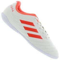 adidas Chuteira Futsal adidas Copa 19.4 IN - Infantil - Off White