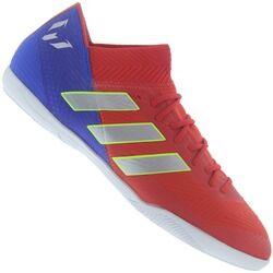 adidas Chuteira Futsal adidas Nemeziz Messi 18.3 IN - Adulto - VERMELHO/AZUL