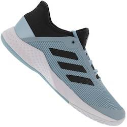 adidas Tênis adidas Adizero Club - Masculino - Azul Claro/Preto
