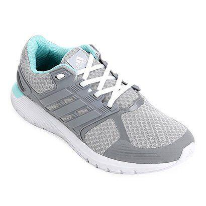 Tênis Adidas Duramo 8 Feminino - Feminino-Chumbo