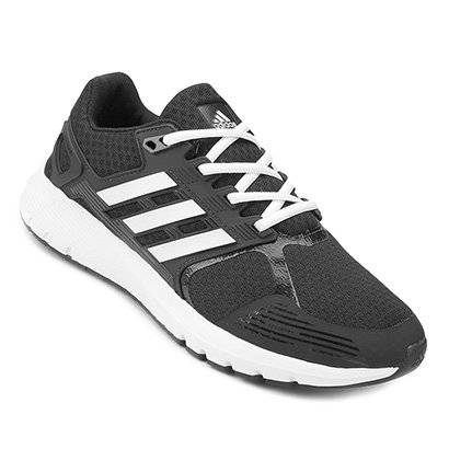 Tênis Adidas Duramo 8 Masculino - Masculino-Preto+Chumbo